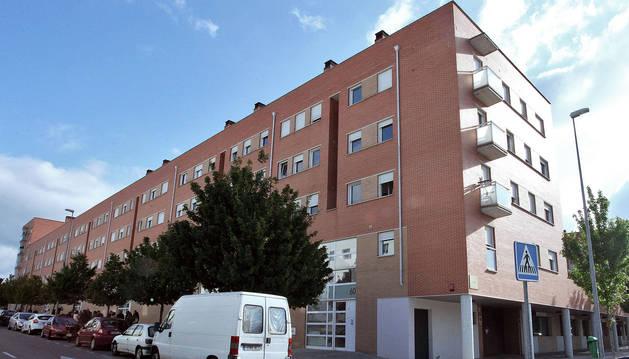 En el barrio de Buztintxuri el Ayuntamiento de Pamplona posee varias viviendas.