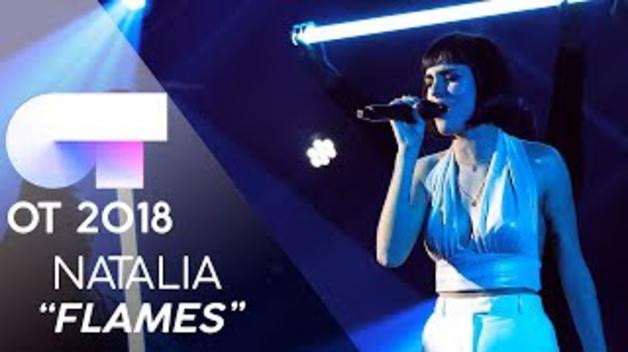 """FLAMES"" - NATALIA   GALA 7   OT 2018"