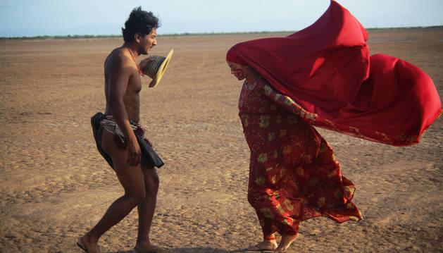 Fotograma de la película 'Pájaros de verano'.