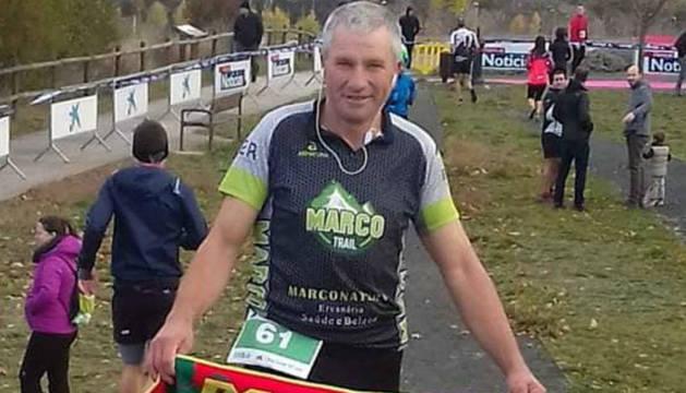 El fallecido en Sarriguren era un gran aficionado  a las carreras populares