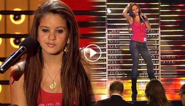 Rosalía con 15 años, en la actuación que le hizo pasar a la semifinal de 'Tú sí que vales'.