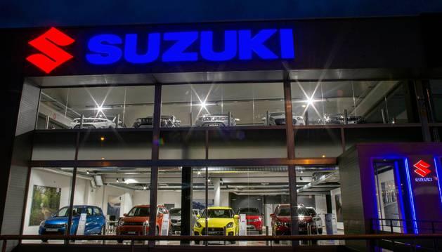 Foto del concesionario Oficial Suzuki en el Polígono Mutilva Baja, Aranguren.