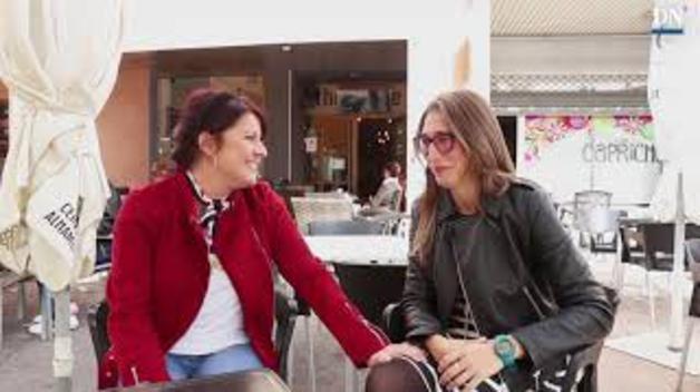 La alegría de Veska Angelova y Saioa Vázquez