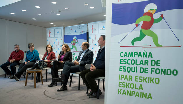 foto de Presentación de la 35ª Campaña escolar de Esquí de Fondo de Navarra.