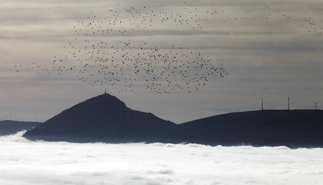Fin de semana nuboso en Navarra con chubascos el domingo