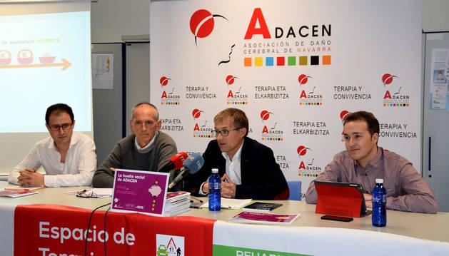 foto de Presentación del primer informe de evaluación social de la actividad de Adacen.