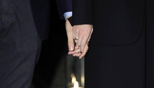 La pareja contrajo matrimonio este viernes, 16 de noviembre, en A Coruña.