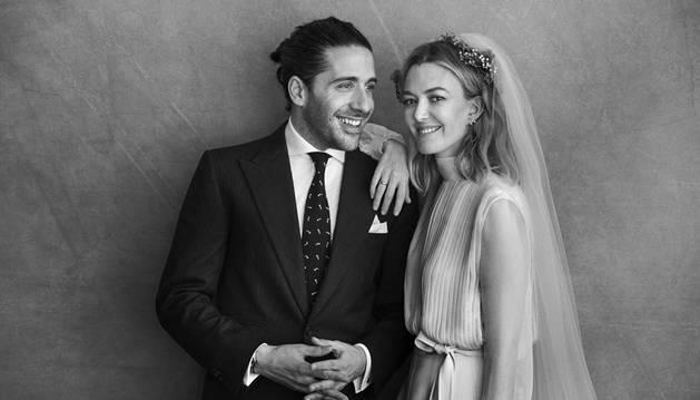 Imagen de la boda de Marta Ortega y Carlos Torretta.