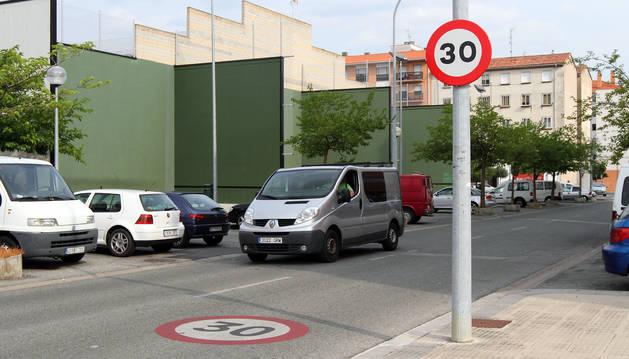 Pamplona cuenta con más de 200 calles en las que es obligatorio circular a 30 kilómetros por hora.
