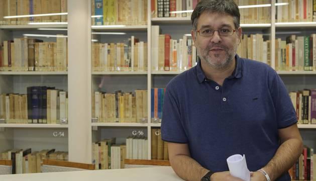 Juan Luis García, presidente de Herrikoa.