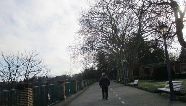Subida de temperaturas en un miércoles con nubes y claros en Navarra