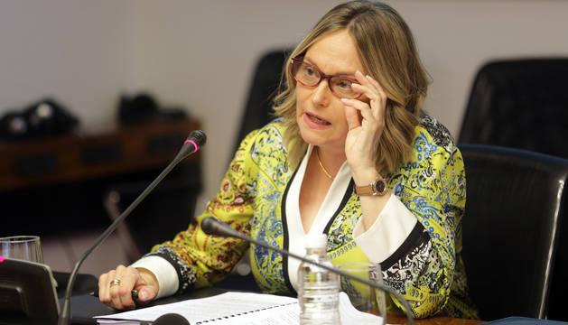 La presidenta de la Audiencia Provincial de Navarra, Esther Erice.