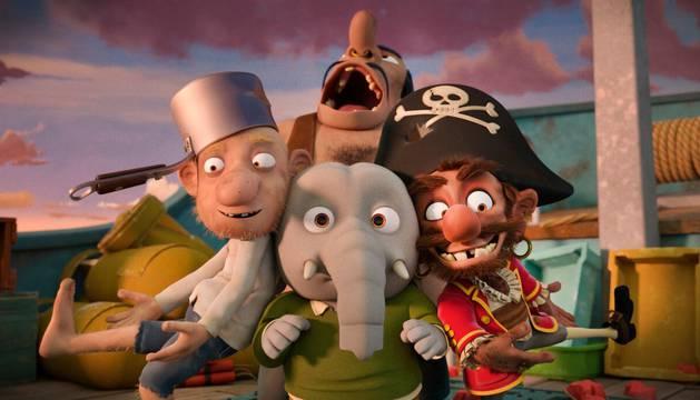 Escena de 'La increíble historia de la pera gigante'.