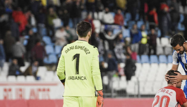 Dani Giménez en un partido anterior