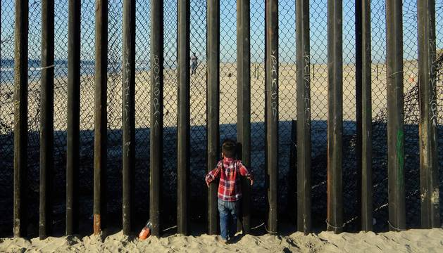 La ONGnavarra Alboan y 'Diario de Navarra' han viajado a México y Honduras para acompañar durante ocho días a la 'caravana migrante' que partió de Centroamérica el 13 de octubre huyendo de la violencia y la pobreza. El presidente de Estados Unido