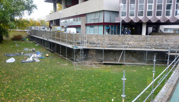 El ayuntamiento trabaja en el mantenimiento de las - Edificio singular pamplona ...