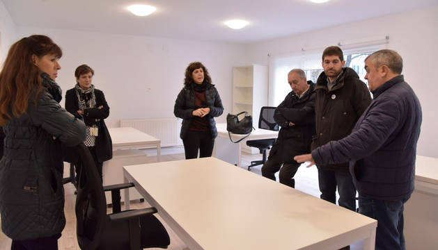 La Comisión de Presidencia del Ayuntamiento de Pamplona visita el espacio CoWork.