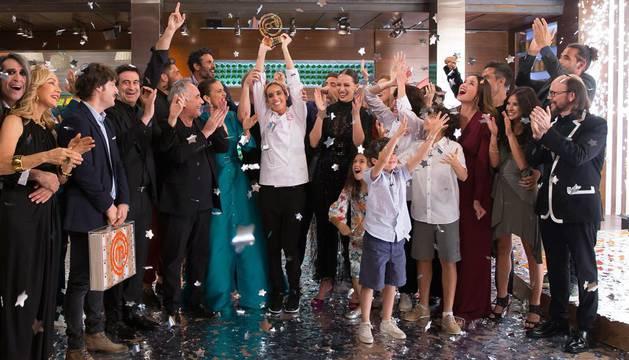 La nadadora sincronizada se proclamó ganadora de 'MasterChef Celebrity 3'.