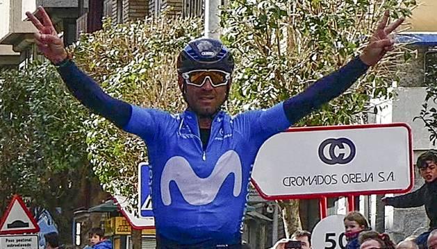 Alejandro Valverde, último ganador del Gran Premio Induráin.