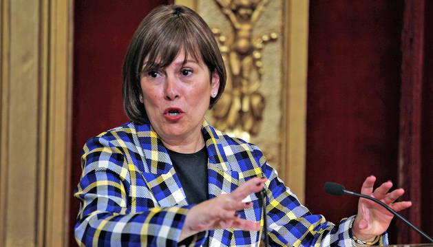 Uxue Barkos, presidenta del Gobierno de Navarra.