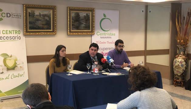 Presentación de CCD-Centristas de Navarra.