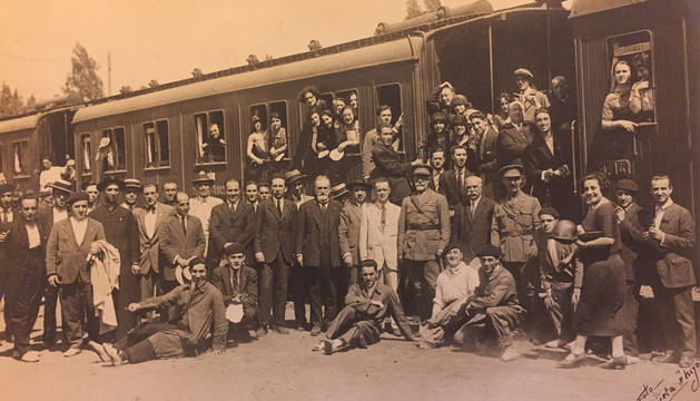Fotografía incluida en el patrimonio documental del Orfeón.
