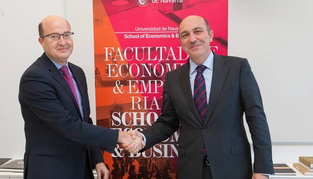 La Universidad de Navarra refuerza su colaboración con el sector empresarial navarro