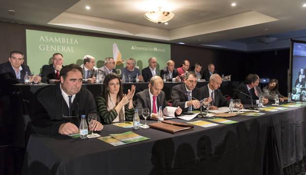 La asamblea general se celebró en el hotel Castillo de Gorraiz.