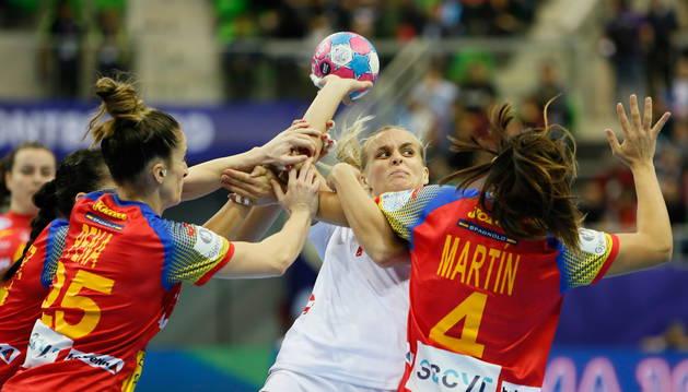 España vence a Croacia con una gran defensa