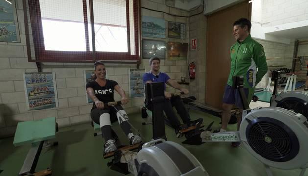 Deportistas de Elite en Pamplona con Nerea Pena