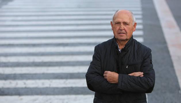 Máximo Cordeu Larrea es el inventor de un nuevo sistema de seguridad ciudadana.