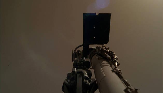 Imagen enviada por la nave InSight desde Marte