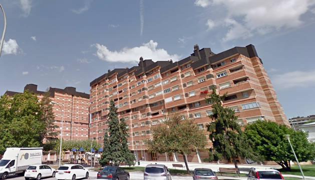 Viviendas del barrio de Ermitagaña.