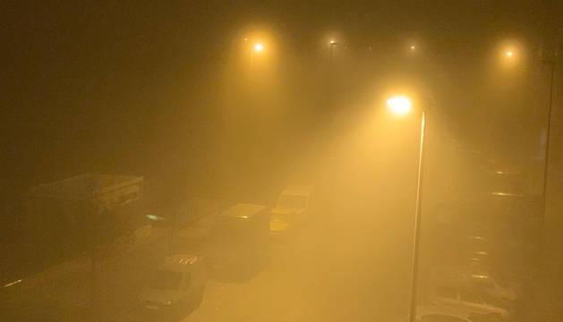 La niebla obliga a retrasar el primer vuelo de la mañana a Madrid