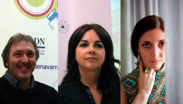 Carlos Zanón, Maribel Medina y Espido Freire