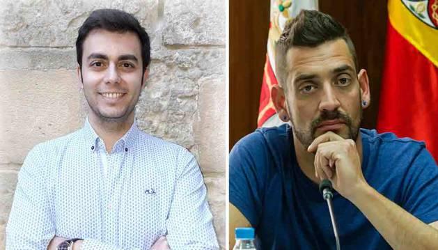A la izquierda, Gonzalo Fuentes Urriza; a la derecha, Javier López Álvarez.
