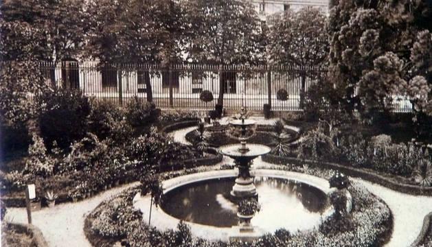 Repaso a la historia del jardín de la Diputación que ahora se rehabilita