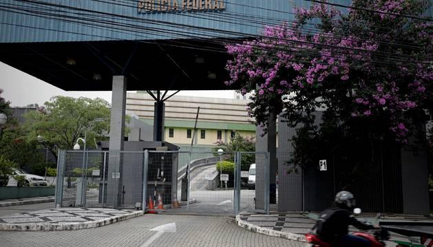 Foto de la sede de la Policía Federal este jueves, en Sao Paulo (Brasil).