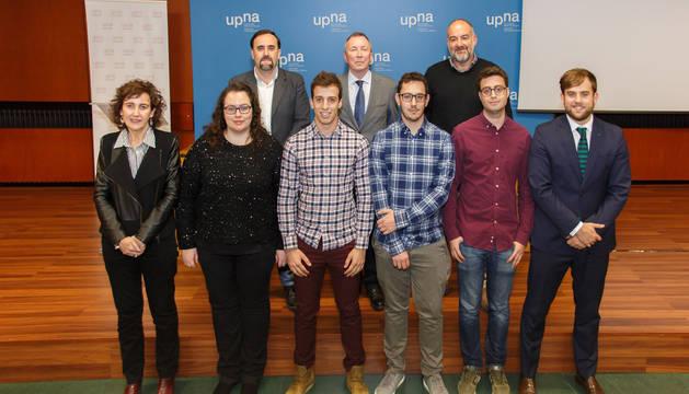 Javier Resano e Ignacio Vitoria, ganan los premios fin de estudios de la UPNA