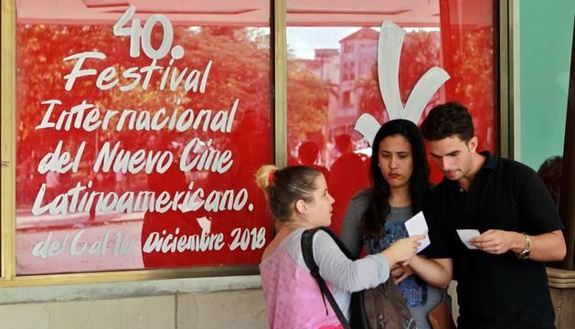 Inauguración del 40 Festival de Cine de La Habana