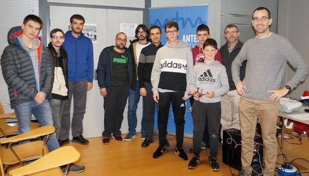 Participantes en el curso sobre dones en Estella.