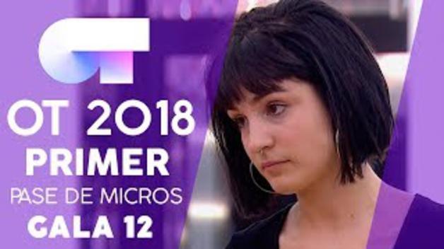 """SEVEN NATION ARMY"" - NATALIA | PRIMER PASE DE MICROS GALA 12 | OT 2018"