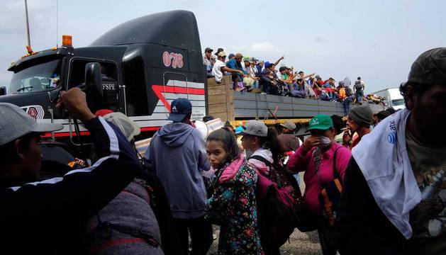 Caravana migrante: Honduras, km 0