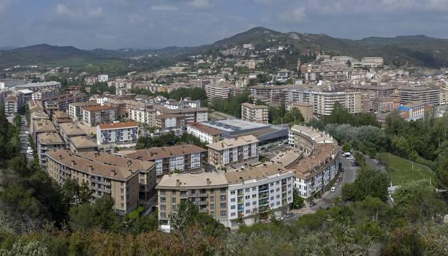 Otra vista de Estella, en este caso de zonas residenciales de más reciente creación como el Sector B, en el que se localizan parte de las calles sobre las que informa el artículo.