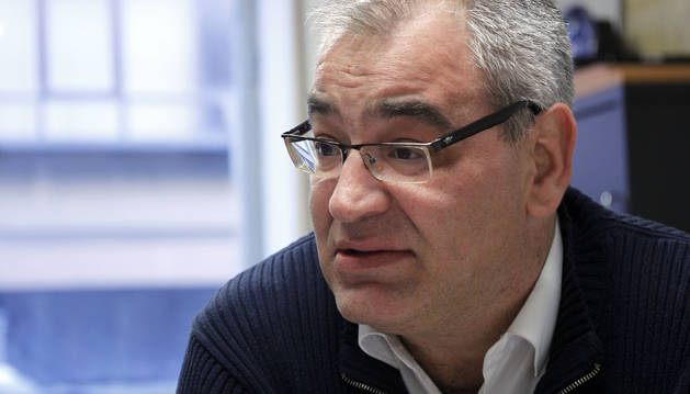 Foto de Lorenzo Ríos, secretario general de FICA UGT de Navarra.