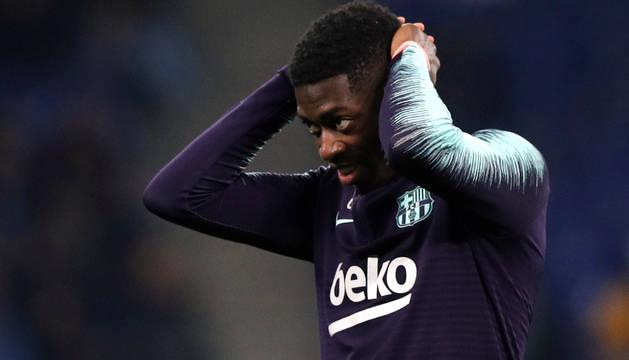 Dembélé llega casi dos horas tarde al entrenamiento del Barcelona