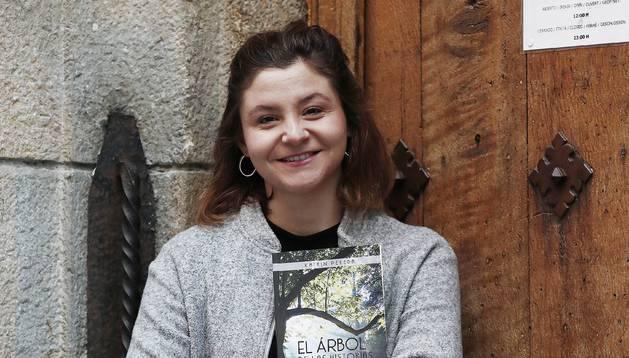 La periodista pamplonesa Katrin Pereda.