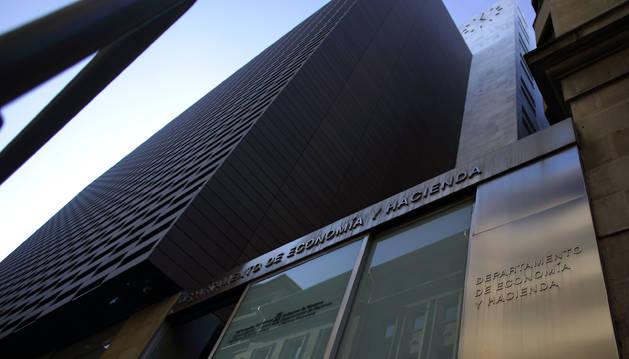 Sede del departamento de Economía y Hacienda del Gobierno de Navarra.