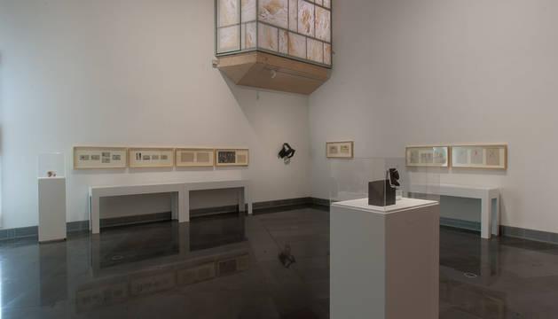 Exposición 'Génesis de la abstracción en los murales de Jorge Oteiza'.