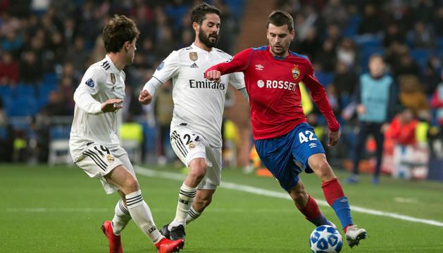 El CSKA destapa las carencias del banquillo del Real Madrid